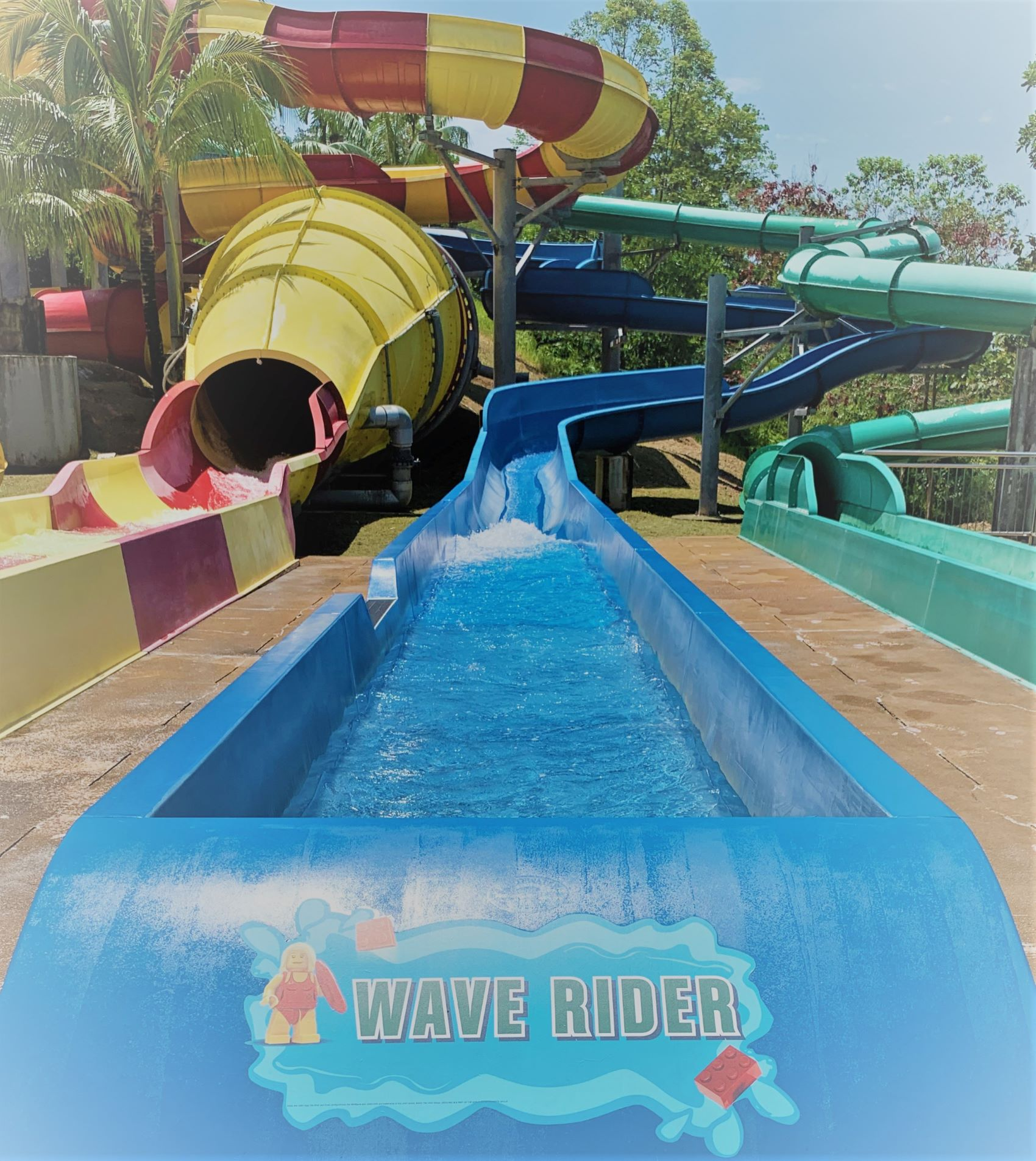 Wave Rider at LEGOLAND Water Park