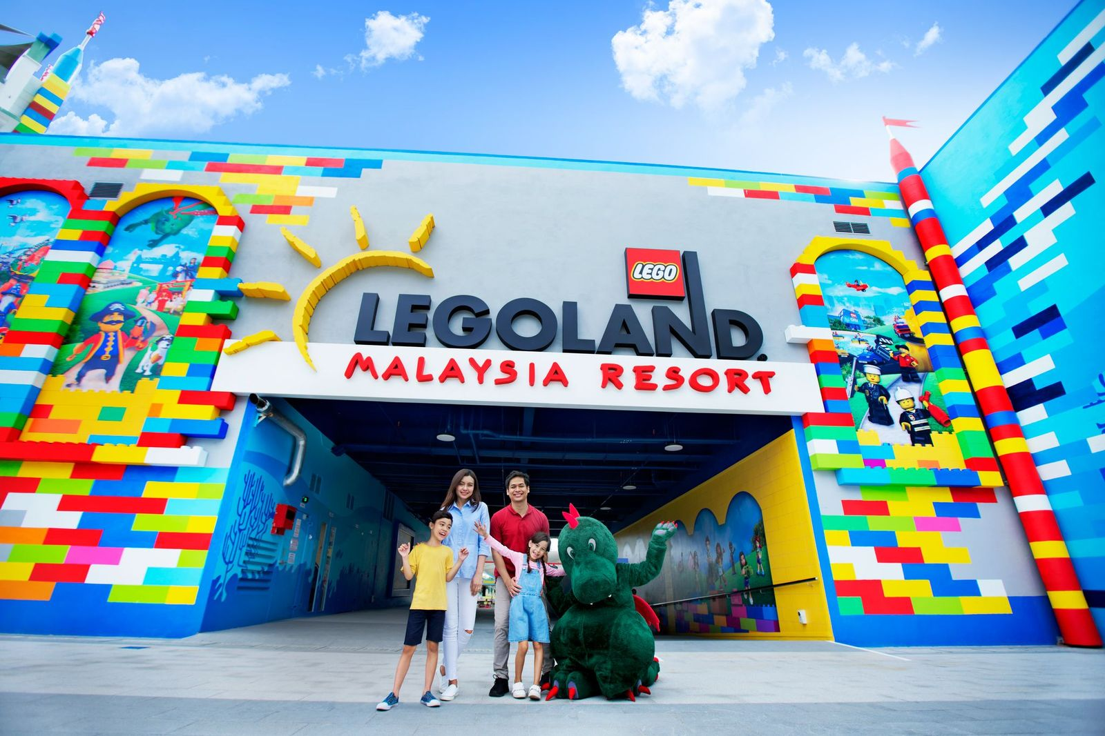 LEGOLAND Entrance at The Beginning