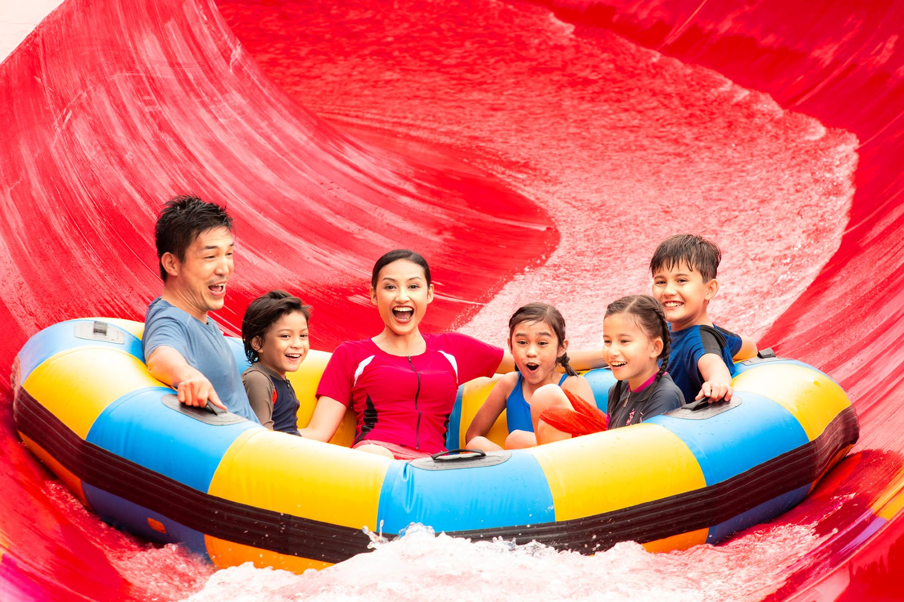 Red-Rush at LEGOLAND Water Park