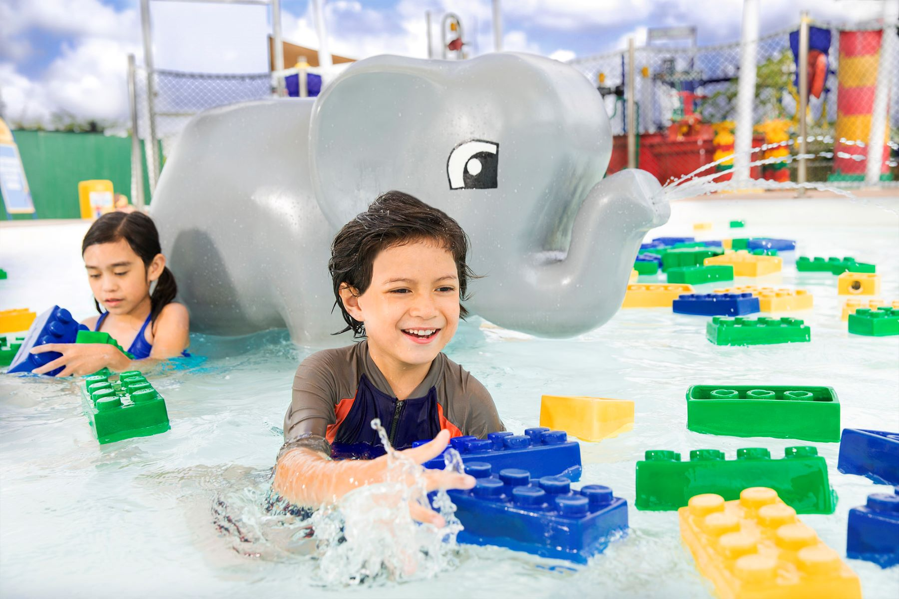 Duplo-Splash-Safari at LEGOLAND Water Park